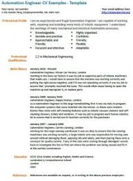 automation engineer cv template   job seekers forumstitle  quot automation engineer cv example quot  width  quot    quot  height  quot    quot