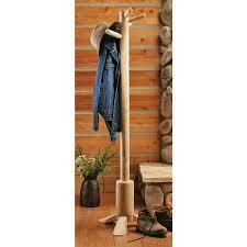Log Coat Racks Cedar Log End Table 100 Living Room at Sportsman's Guide 76