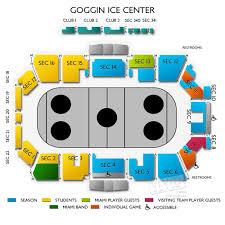 Goggin Arena Seating Chart Goggin Ice Center 17102 Lineblog