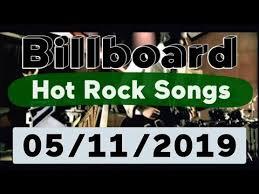 Billboard Modern Rock Chart Billboard Top 50 Hot Rock Songs May 11 2019