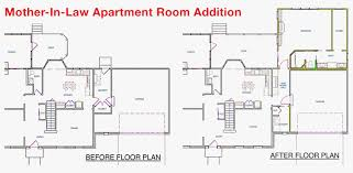 interesting design house plans with mother in law apartment in law suite additions plans inspirational mother