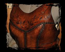Leather Armor Patterns Beauteous Cuirass Leather Armor Close Up By Lagueuse On DeviantArt