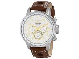 invicta 16010 mens s1 rally stainless steel watch with brown leather band