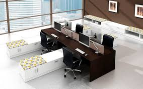 contemporary modern office furniture. Workstation Desk / Laminate Contemporary Commercial - MODERN Modern Office Furniture