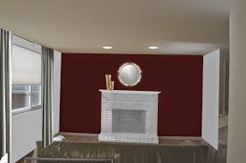 Red Paint Colors For Living Room Paint Colors Living Room Red Brick Fireplace House Decor