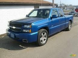 2003 Arrival Blue Metallic Chevrolet Silverado 1500 SS Extended ...