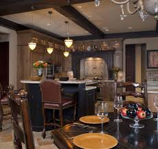 Rustic Italian Kitchens Furniture Classic Kitchen With Black And White Floor And Italian
