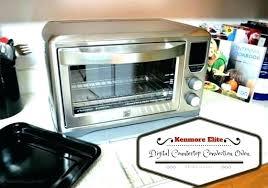 kenmore elite countertop microwave