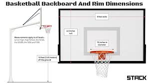 Basketball Court Dimensions And Hoop Height A Quick Guide