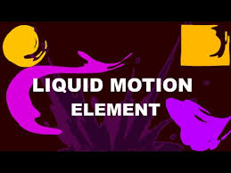 Motion Template After Effects Template Liquid Motion Element Youtube