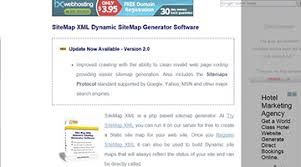 sitemap xml dynamic sitemap generator software