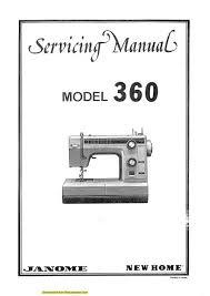 Service Janome Sewing Machine