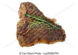 cooked steak with white background. Modren Cooked Cooked Tbone Steak On White Background  Csp33062704 Intended Steak With White Background