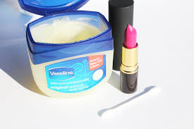got a lipstick stain on one of your slinky slips simply rub vaseline on the affected area to remove the mark ta da