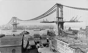 architectural drawings of bridges. The Manhattan Bridge Under Construction In March Of 1909 Architectural Drawings Bridges