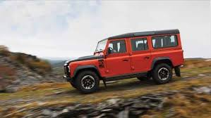 2018 land rover defender camper edition. modren edition adventure limited edition models are painted in unique colours such as  orange and equipped with an extended snorkel roof rack special rims coated  in 2018 land rover defender camper edition