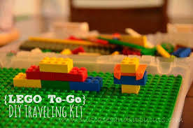 lego to go how to make a traveling lego kit travel tips tuesday