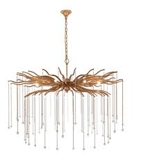elegant lighting 1539g48dag willow 8 light 48 inch drizzled antique gold chandelier ceiling light urban classic