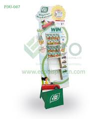Floor Standing Display Units Impressive Corrugated Floor Standing Display Units For Tic Tac Candy