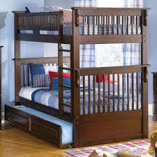 image of twin over twin bunk beds low