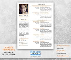Acting Resume Templates Custom Acting Resume Template Word Resume Design Template For Word Etsy