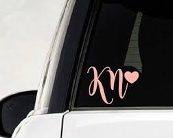 car letter decals car decal etsy