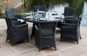 round glass patio table set elegant glass patio table