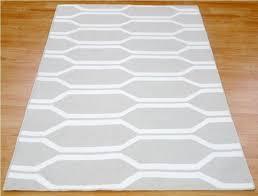 gray jute rug round