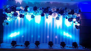Paper Flower Photo Booth Backdrop Royal Paper Flower Backdrop With Entrance And Photobooth Call Us 918099958524