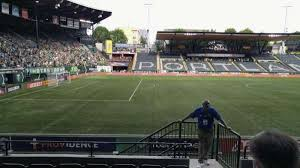 Providence Park Section 115 Row G Home Of Portland