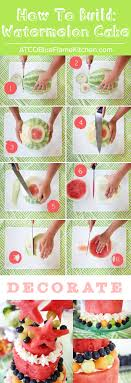 Blue Flame Kitchen Edmonton How To Build A Watermelon Cake Blog