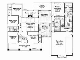 3500 square foot single story house plans fresh 5 bedroom house plans under 3500 square feet