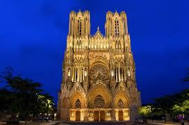 Реймсский собор во Франции история описание фото Реймсский собор во Франции