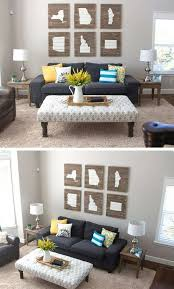 luxury family room wall decor ideas of diy ideas to refresh your living room crafts perfect diy living