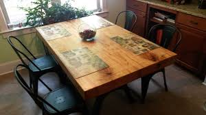 nook table 1 995 i found two beautiful ambrosia maple slabs and knew they would make a fantastic dining table for a kitchen nook