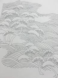 ぬって飾れる 京きもの ぬり絵本小学館 京友禅アロハシャツ Pagong