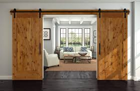 80812 in knotty alder interior barn door