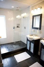 excellent bathroom black floor tile bathroom