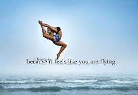 I Love Dance Because It Feels Like You Are Flying Quotespictures Impressive Flying Quotes