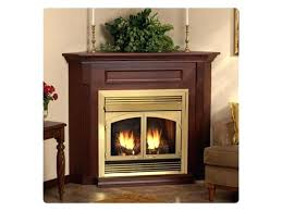 corner gas fireplaces s unit fireplace vent free propane