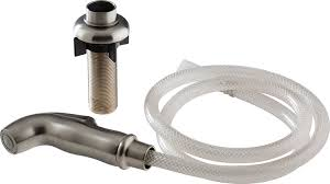 rless rp54807ss spray hose assembly and spray support stainless faucet spray hoses com