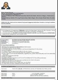Best Resume Formats For India Download