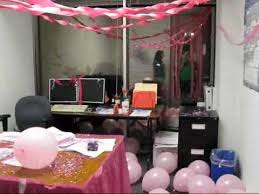 they decorate maples boss office youtube birthday office decorations