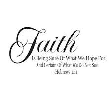 Faith Quotes From The Bible Amazon Hebrews 10000100 Bible Quote Faith Is Being Sure of What We 24