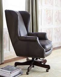 traditional leather office chairs. Mitchell Leather Office Chair Traditional Task Chairs E