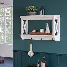 shelves frame shelf bathroom decor