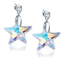 925 Sterling Silver Star Earrings for Women: Jewelry - Amazon.com