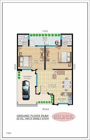 astounding 30 40 house plan fascinating x duplex plans north facing arts home