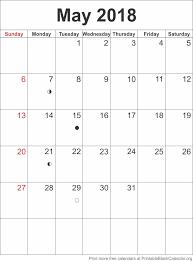 May Blank Calendars Calendar Template May 2018 Printable Blank Calendar Org