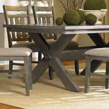 Five Piece Dining Room Sets Gray Powell Turino 5 Piece Rectangle Dining Room Set In Grey Oak